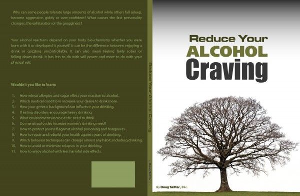Author Doug Setter Presents Reduce Your Alcohol Craving