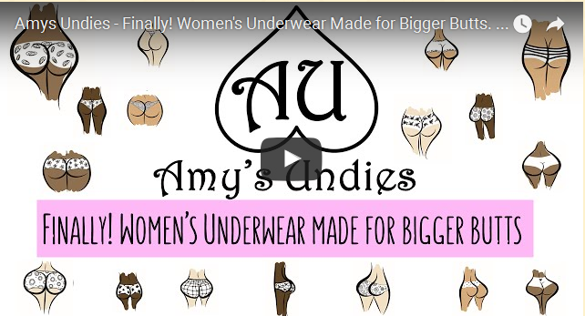 Finally underwear Made of Big Butts Women