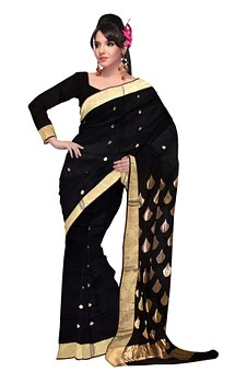 Satin Silk Saris for Corporate Women