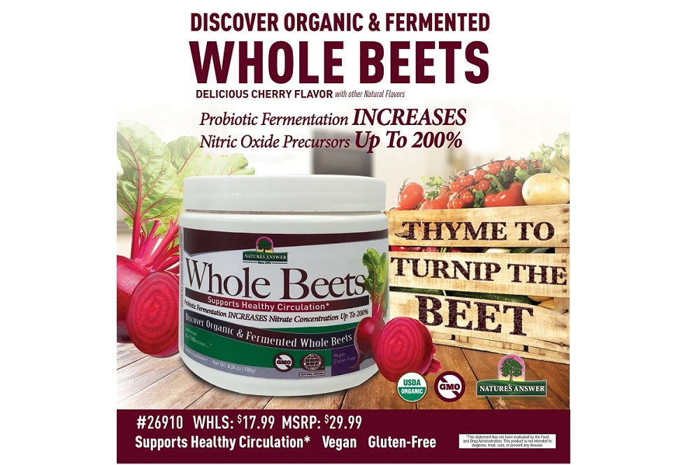 Time to Turn Up the Beet with Organic & Fermented Whole Beets