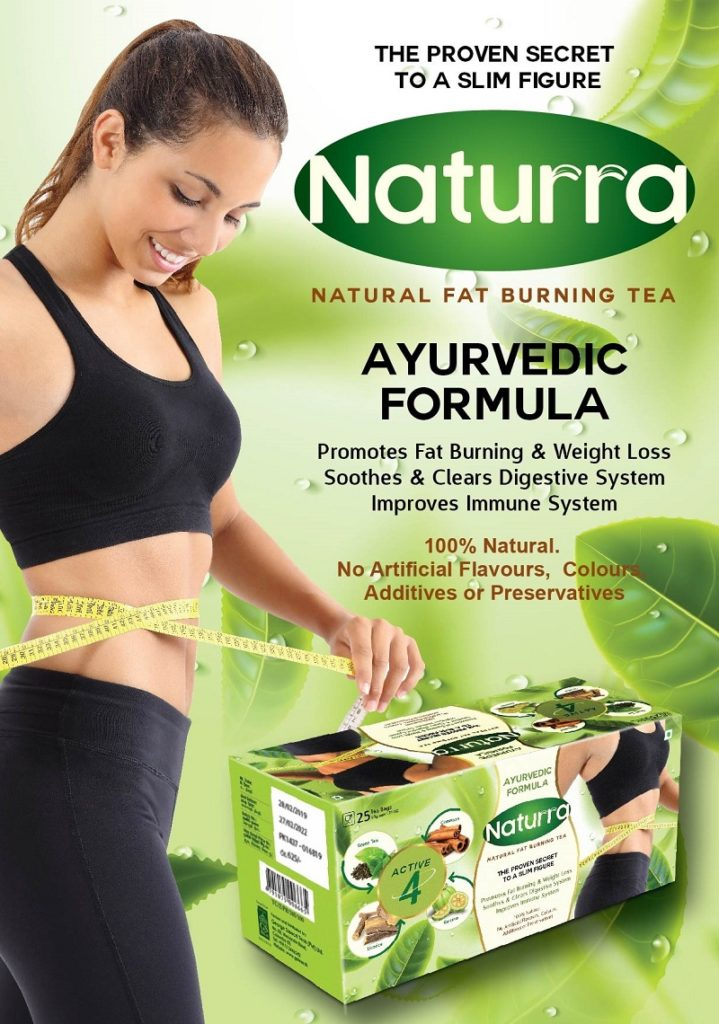 Getting a slim body with 'Naturra' Natural Fat Burning Tea